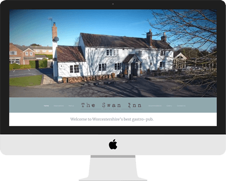 Web Design - Hanley Swan Inn