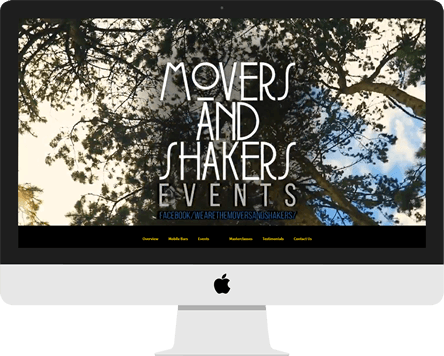 Web Design - We Are Movers & Shakers