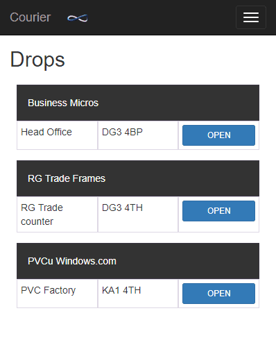 Business Micros | Drop Screen
