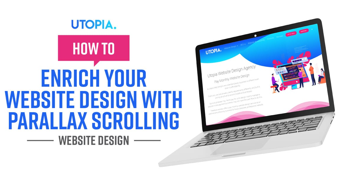 Website Design With Parallax Scrolling