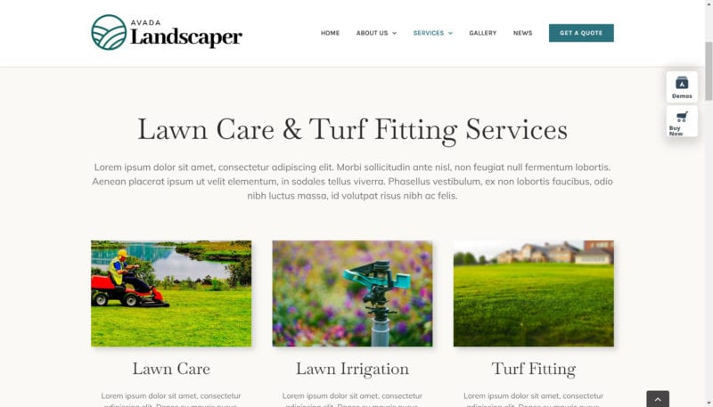 How to create a landscaping business website 1